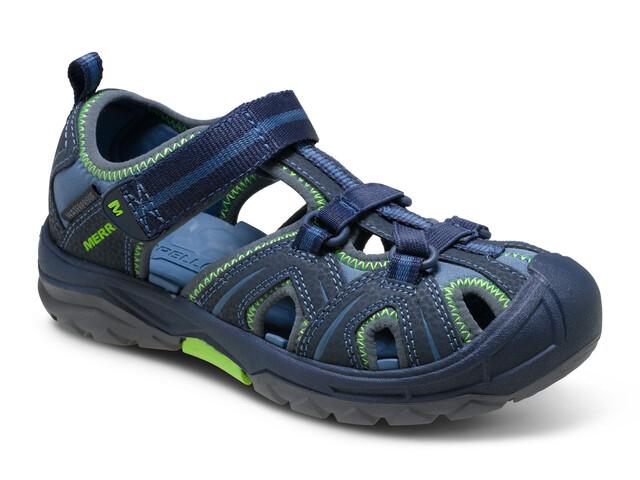Merrell Hydro Hiker Sandal Kids Navy/Green